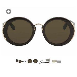 NWT Elie Saab sunglasses**OVAL**